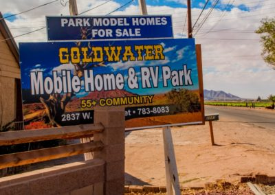 Gold Water RV Park In Yuma